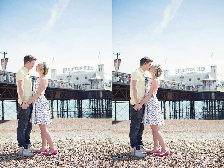 Sunny Brighton Engagement Shoot