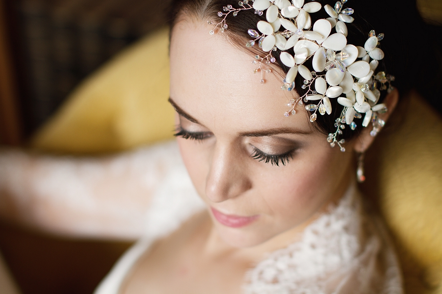 Hanbury Manor Bridal Shoot 1920s wedding inspiration vintage Wedding Hair Accessories